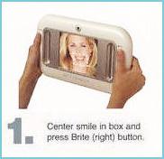 1.まずお客様の歯をシュミレーターに写します。